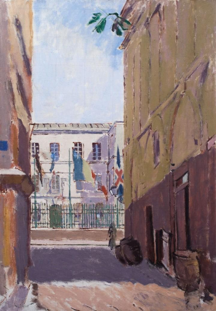 Walter-Sickert,-Celebrations,-Dieppe,-1914,-Courtesy-Piano-Nobile